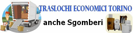 Traslochi economici Torino da 199 €